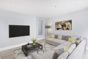 Interior of SES ifestyle Development in Fulham